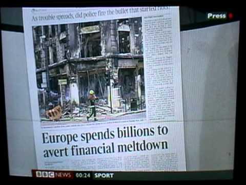 Tottenham Riots | Newspaper frontpages | 08.08.11 (BBC News)