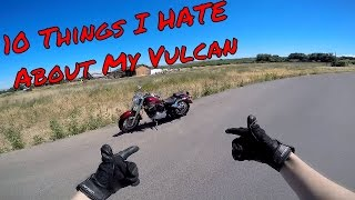 8. 10 Things I Hate About My Kawasaki Vulcan 800 Classic