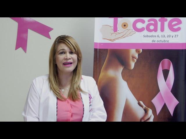 Dra Javiela Tejada instruye a las mujeres  sobre la prevención del cáncer