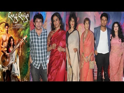 Tabu and Manisha Koirala And Other Celebs At Premiere Of Movie Rang Rashiya