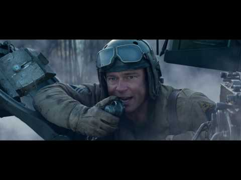 "Fury ""Tiger Vs 4 Sherman"" [FullHD