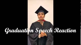 Drjeffspeaking.com - Graduation Speech Reaction b