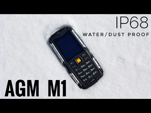 AGM M1 Rugged Phone IP68 REVIEW - Is a $35 phone any good?