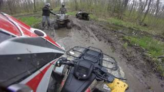 4. 2009 Can am ds 250 trail riding
