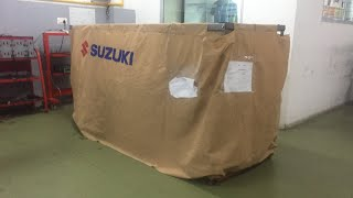 4. Suzuki Hayabusa Unboxing 2018 with brocks exhaust