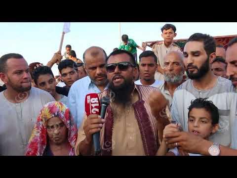 مظاهرة لعدد من أهالي صرمان تنديداً بما ورد في كلمة السفير الإيطالي لدى ليبيا
