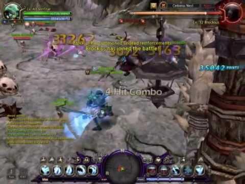 Dragon Nest [NA] Cerberus Nest- Swordmaster Solo Lvl 40