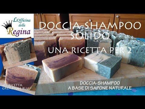 Doccia-shampoo solido - Una ricetta per 2 saponi