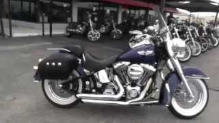 7. 027330 - 2006 Harley Davidson Softail Deluxe FLSTN - Used Motorcycle For Sale