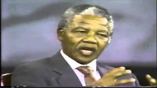 Rare Video: Nelson Mandela Speaking on Palestine [Extracts]
