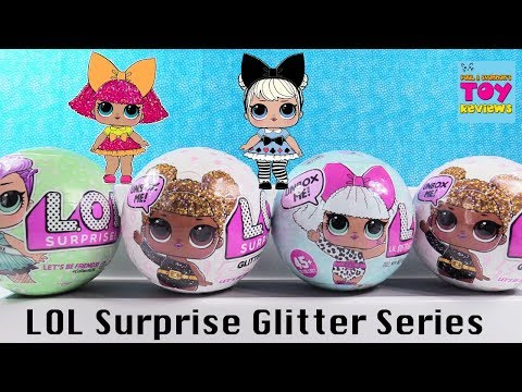 Glitter Series LOL Surprise Doll 1 2 Wave Palooza Toy Review | PSToyReviews