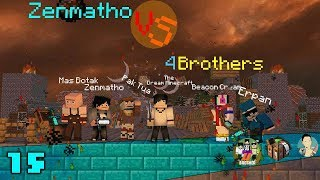 Video Minecraft animation indonesia Zenmatho Vs 4Brothers episode 1 MP3, 3GP, MP4, WEBM, AVI, FLV Oktober 2017