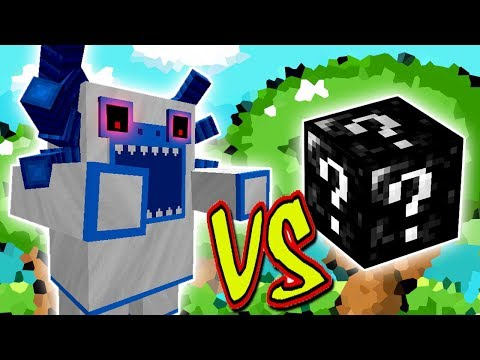 YETI MUTANTE VS. SUPER LUCKY BLOCK (MINECRAFT LUCKY BLOCK CHALLENGE)