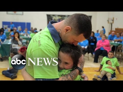 Inmates get a day with their kids