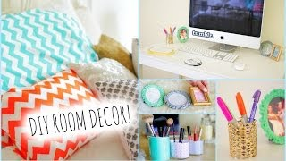 DIY Room Decorations for Cheap! + How to stay Organized | MyLifeAsEva