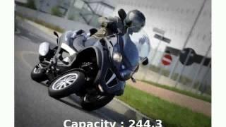 10. Piaggio MP3 LT 250  motorbike Details