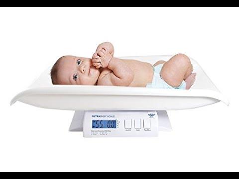 Wie schwer ist mein Baby? Baby wiegen mit der Babywaage von MyWeigh