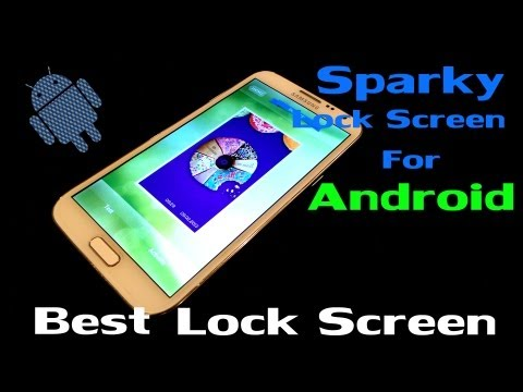 Video of Sparky Lock Screen Lite