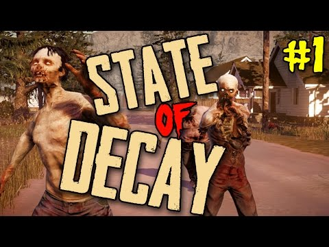 State - Want to see more State of Decay zombie bashing good times? Leave a LIKE on this video!!! State of Decay is all about survival during a zombie apocalypse. The end is here. Life as you knew...