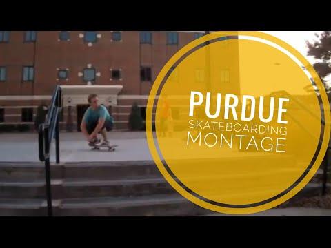 Purdue Skateboarding Montage - West Lafayette, Indiana