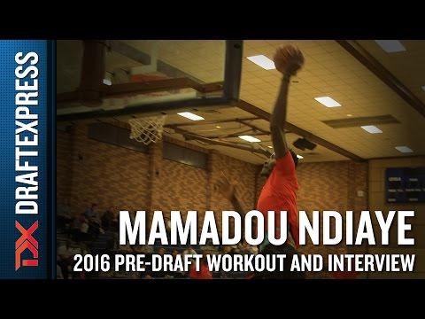 Mamadou Ndiaye NBA Pro Day Workout and Interview