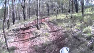 Kingaroy Australia  city photo : Yamaha YZ450F 2013 model, Kingaroy trail ride 2014