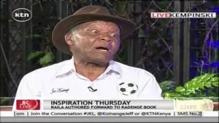 Joe Kadenge: President Uhuru is like my son, I am proud of him