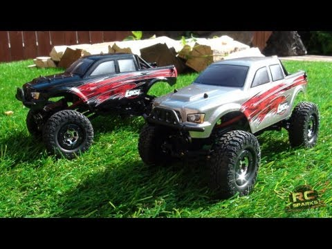 RC ADVENTURES - 4X4 Offroad RC Trucks - LOSi MICRO TRAiL TREKKERS - 1:24th Scale