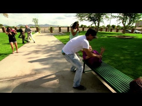 Criss - It's a lovely day at the park for Criss Angel to demonstrate to some bystanders how fun it is to pull apart a couple by their torsos and switch their bodies ...