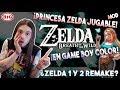 ¡¡ZELDA BOOM!! BREATH OF THE WILD: ¡Princesa ZELDA JUGABLE y versión GAME BOY! | ¿REMAKE 1 y 2?