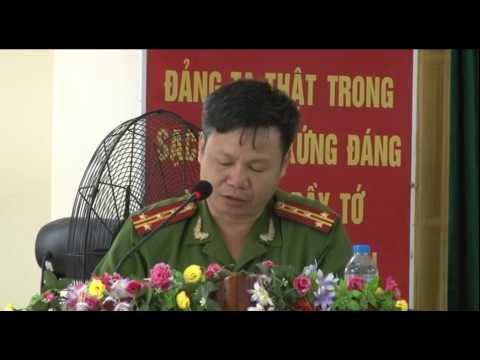 Diễn đàn Công an lắng nghe ý kiến nhân dân phường Hải Yên