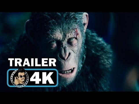 WAR FOR THE PLANET OF THE APES 4k Trailer (2017) Andy Serkis Woody Harrelson Sci-Fi Movie HD
