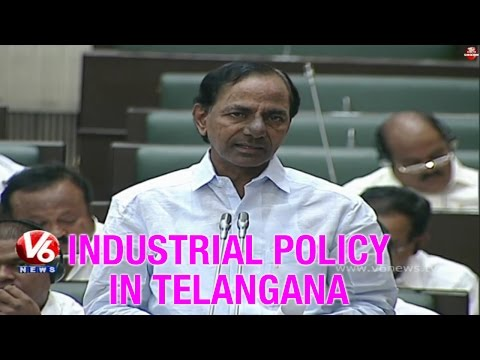 Telangana CM KCR  Industrial policy in Telangana state