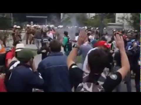 Greve dos Professores no Parana - 30/04/2015