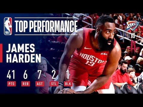 James Harden's 41 POINT Performance On Christmas