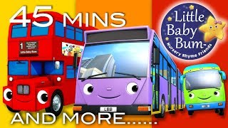 Video Bus Song   Different Types of Buses!   Plus More Nursery Rhymes   45 Minutes from LittleBabyBum! MP3, 3GP, MP4, WEBM, AVI, FLV Juni 2018