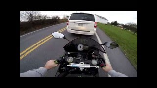 6. 2009 Kawasaki ZX6R Ninja Monster Edition Test ride review