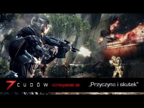 Przedstawiamy trzeci z filmów prezentujących w akcji grę Crysis 3. Gra w pełnej polskiej wersji językowej (dubbing) ukaże się 21 lutego 2013 roku.   Zamawiając grę już teraz, możecie skorzystać z super oferty - otrzymać pierwszą grę Crysis o wartości 50 z