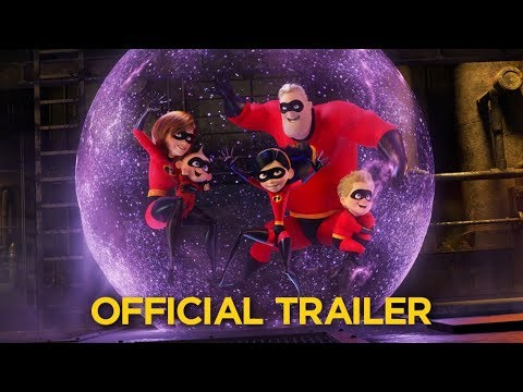 Incredibles 2 Official Trailer (видео)