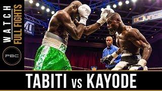 Download Video Tabiti vs Kayode FULL FIGHT: May 11, 2018 - PBC on BOUNCE MP3 3GP MP4