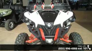 10. 2015 Can-Am Maverick MAX X rs DPS 1000R White, Black & Re...