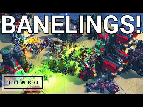 StarCraft 2: BANELING BUST BRUTALITY! (Lambo vs souL)
