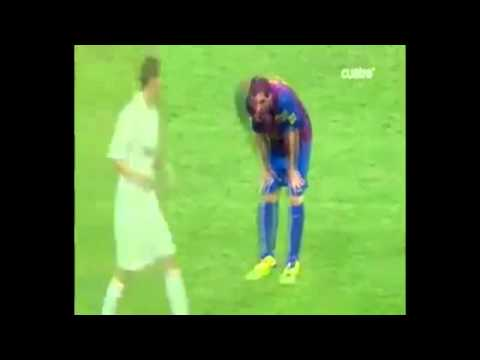 Mourinho vs Messi (видео)