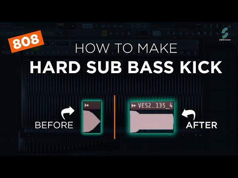 How to make a Sub Bass using Kick Sample (8o8) Synth Studio's | FL Studio Tutorial