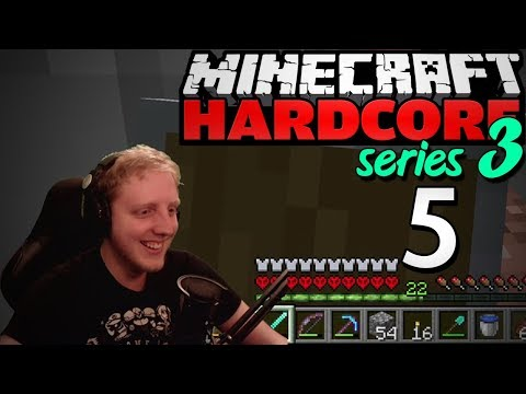 """Minecraft Hardcore - S3E5 - """"Completing the GRINDER"""" • Highlights"""