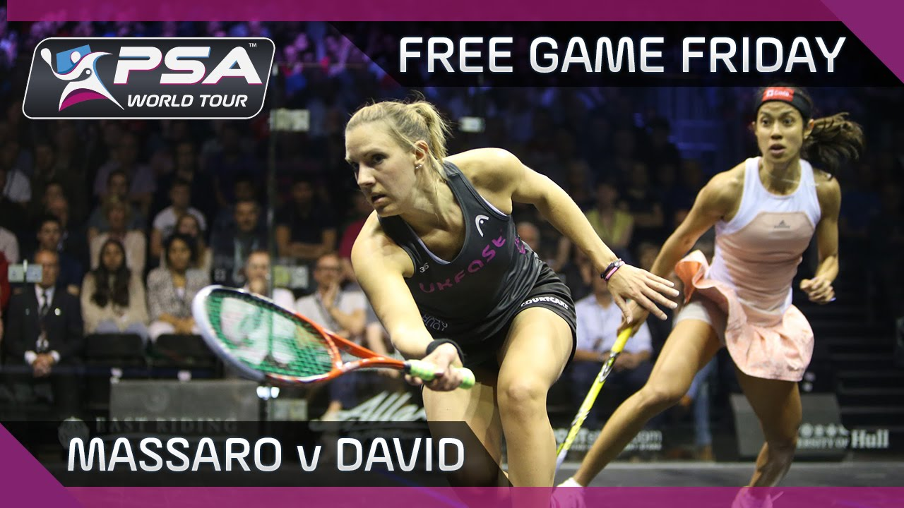 Squash: Free Game Friday – Massaro v David – British Open 2015
