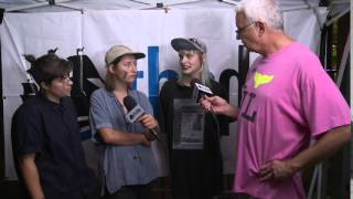 And The Kids interview at I AM Festival 2015