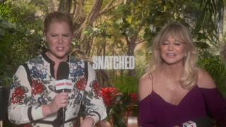 SNATCHED MOVIE: Amy Schumer talks about Wanda Sykes great quote from her new movie ' Don't have more drinks than you have tits'
