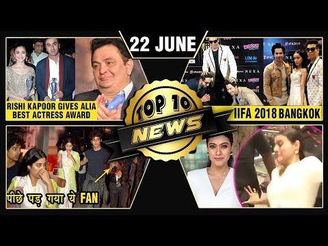 Rishi Kapoor On Alia, Ishaan Protects Janhvi, IIFA