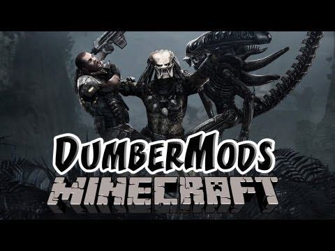 Minecraft: Mods | Aliens Vs Predator Mod